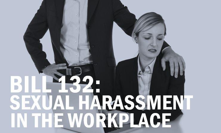 Bill 132 workplace harassment