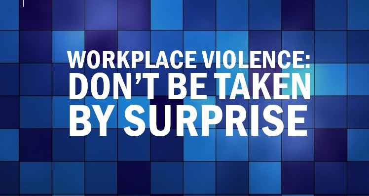 Violence prevention in the workplace