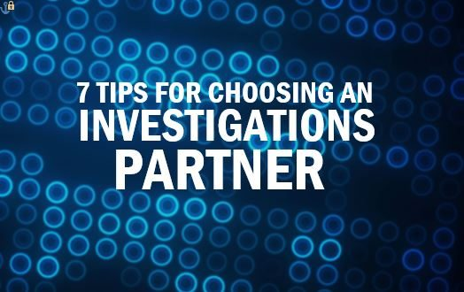 How to choose the right corporate investigations provider