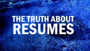 How many people lie on resumes